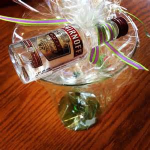 Cheap Favors For Adults by Martini Glass And Mini Vodka Bottle Favors Via