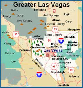Map Of Las Vegas Area by Greater Las Vegas Flickr Photo Sharing