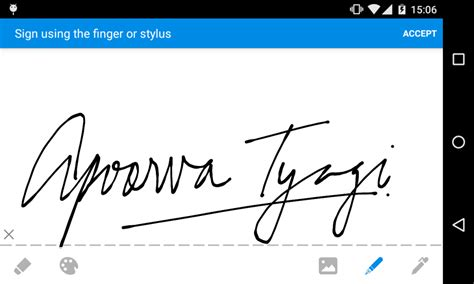 Signature Wardrobe by Introducing The New Ink Pen Signature Style On Signeasy