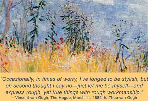 van gogh quote 20 quotes from vincent van gogh denver art museum