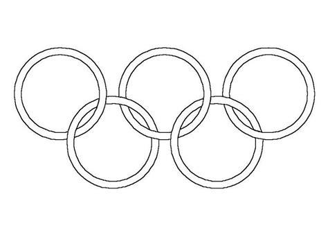 Olimpiadi disegno da colorare n.1