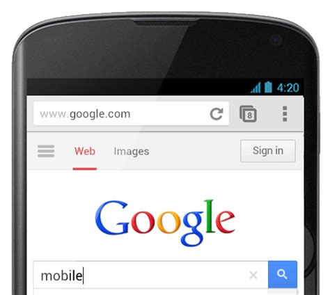 google images search mobile mobile search boost sees alphabet shares jump mobile
