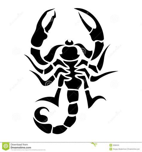 scorpion tatoo stock vector illustration of scorpion