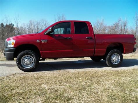 where to buy car manuals 2009 dodge ram 3500 interior lighting buy used 2009 dodge ram 2500 st quad cab 4wd 6 speed manual 6 7l diesel in marne michigan