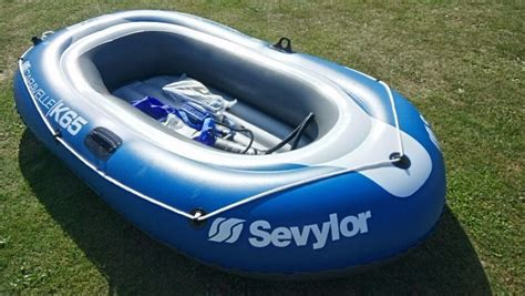 inflatable boats for sale cornwall sevylor caravlle k65 inflatable boat with pump and oars