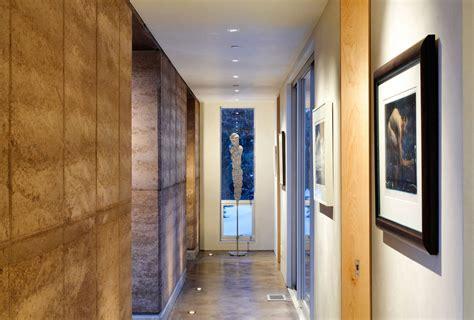 imposing contemporary home in aspen colorado art hallway imposing contemporary home in aspen colorado