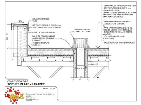 flat roof section detail roof flat detail google search architecture