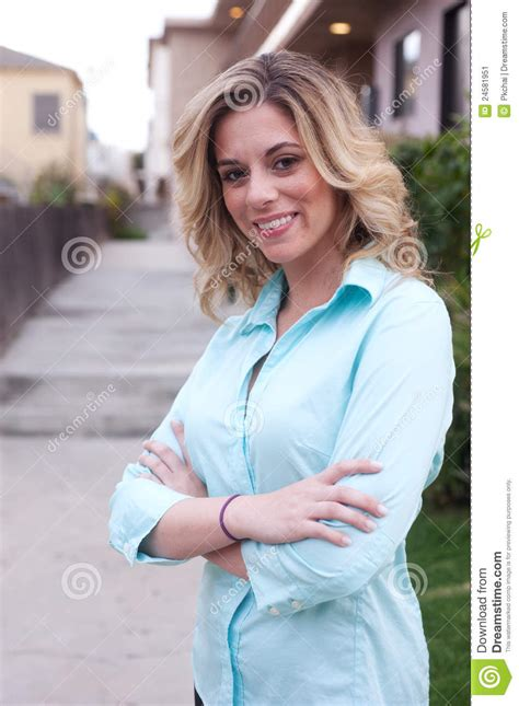 female real estate agents attractive female real estate agent stock image image