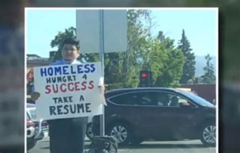 Resume 4 Success by Homeless Hungry 4 Success Take A Resume The Yucatan Times