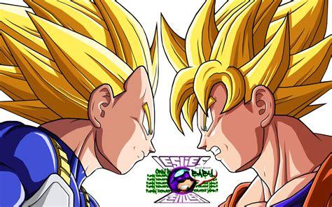 imagenes goku vs vegeta anime renders family renders