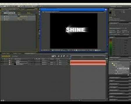 tutorial after effects deutsch after effects tutorial shine effect deutsch youtube