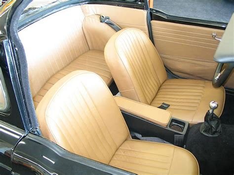 Car Upholstery Surrey by Hart S 1963 Tr4 With Ford 302 V8 Engine And