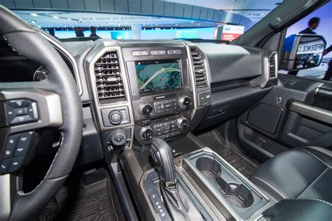 ford raptor interior 2017 2017 ford f 150 raptor supercrew unveiled ford authority