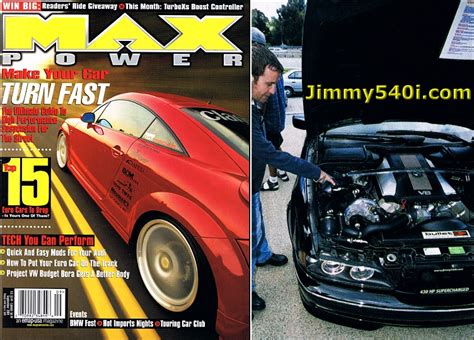 max power magazine ultimate hp dinan supercharged bmw