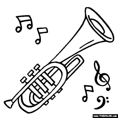 instrument coloring pages musical instruments coloring pages page 1