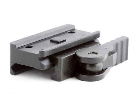 Micro Aimpoint T1 Low Black american defense mfg llc aimpoint t1 micro mount low
