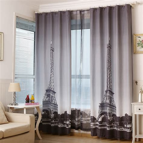 eiffel tower bedroom curtains online buy wholesale eiffel tower curtains from china