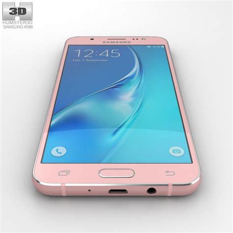 Samsung J5 Gold samsung galaxy j5 2016 gold 3d model hum3d