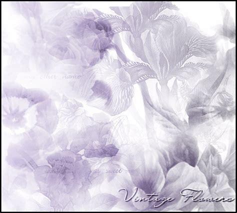 psp themes retro vintage flowers psp tutorialchip