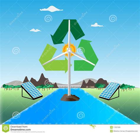 renewable energy royalty free stock images image 17327509