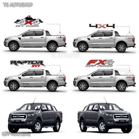 Does Walmart Sell Ebay Gift Cards - 2 pcs 4x4 off road sticker rear tail for ford ranger wildtrak mk2 px2 2015 2017 ebay