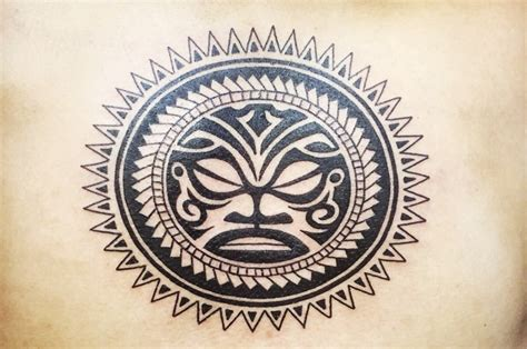 what does a tribal sun tattoo mean sun and moon meanings ink vivo
