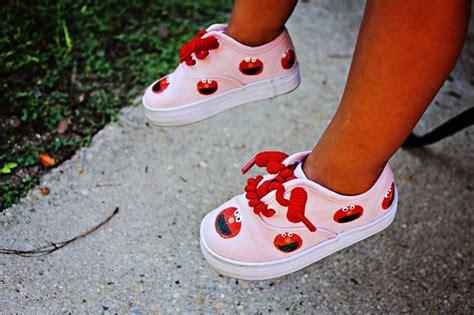 elmo shoes elmo shoes painted design elmo