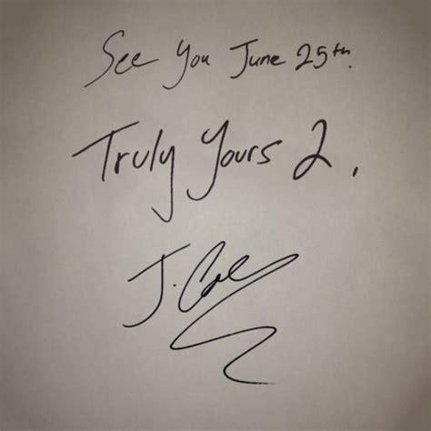 J Cole Truly Yours 2 Nodj Livemixtapes   j cole truly yours 2 nodj