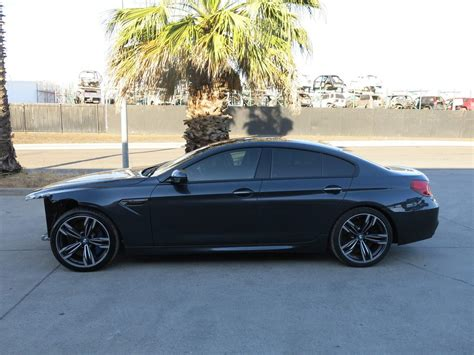 bmw damaged repairable cars for sale loaded 2014 bmw m6 gran coupe m6 repairable for sale