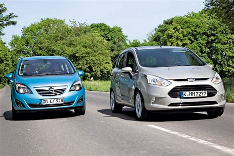 Ford Opel by Ford B Max Vs Vauxhall Meriva News Auto Express