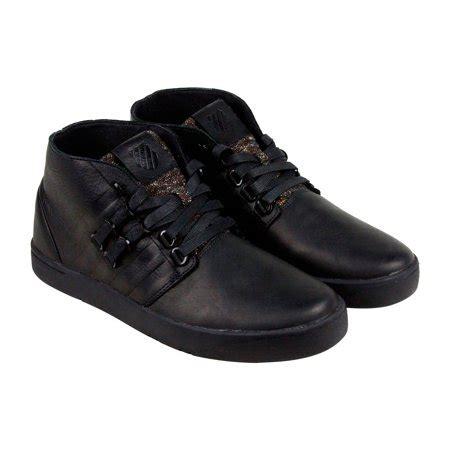 k swiss dress shoes k swiss k swiss dr cinch chukka p mens black suede casual dress lace up chukkas shoes