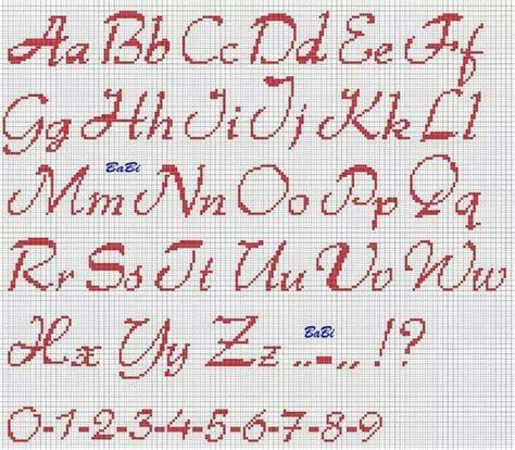 lettere minuscole punto croce maiuscole e minuscole alphabet alfabeto