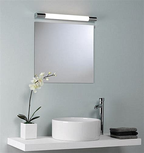 over mirror bathroom light above the mirror lighting how to light up your bathroom
