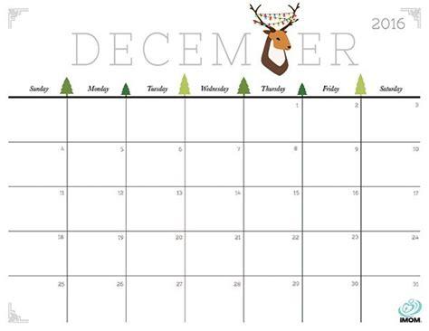printable calendar 2016 january through december 1000 ideas about december 2016 calendar on pinterest