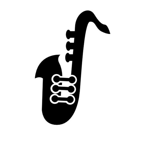 saxophone icon saxophone music icon free icons download