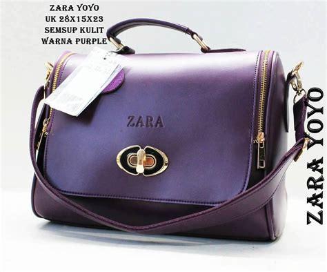 New Tas Zara tas zara terbaru tas zara yoyo eceran harga grosir ungu