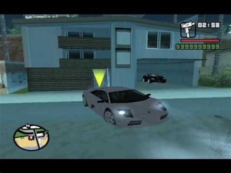 Gta San Andreas Cheats For Ps2 Lamborghini Gta San Andreas Lamborghini And Maclaren F1