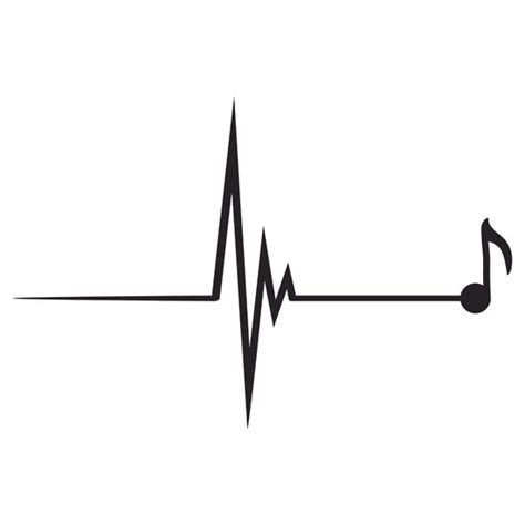 heart beat music trending music drawing clipart panda free clipart images