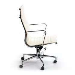 aluminum highback white office chair buy office chairs