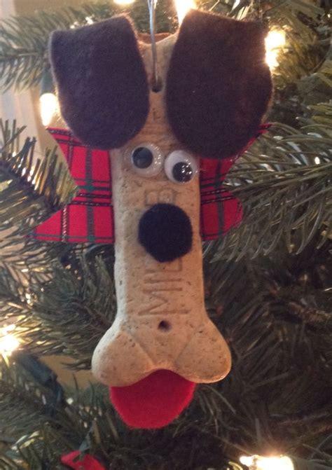 milk dog bone christmas ornament craft pets wild life