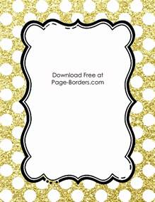 Light Purple Background Free Polka Dot Border Templates In 16 Colors
