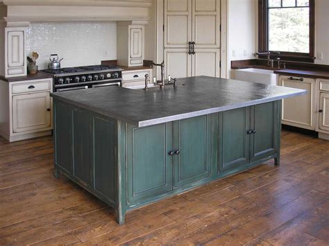 metal top kitchen island handcrafted metal fine quality copper brass bronze