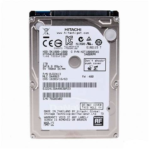 Hardisk Eksternal Hitachi 320gb ổ cứng laptop hdd hitachi 320gb 5400rpm linh kiện laptop