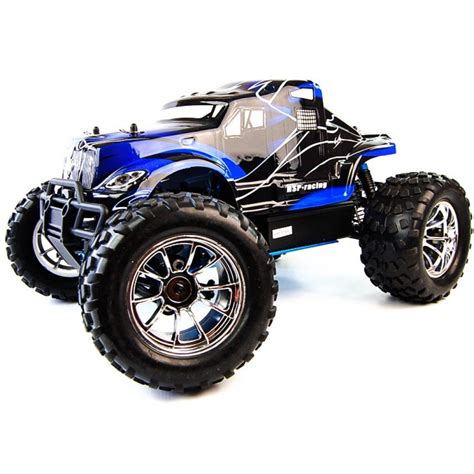 remote monster truck 1 10 4x4 big black nitro remote control truck 60mph