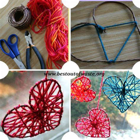 Easy Handmade Crafts Ideas - try these 40 simple diy string projects now