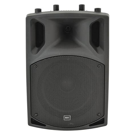 Speaker Active Bluetooth qtx qx10bt active speaker with bluetooth at gear4music