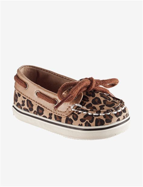 infant white boat shoes upc 044213819479 sperry top sider biscayne leopard print