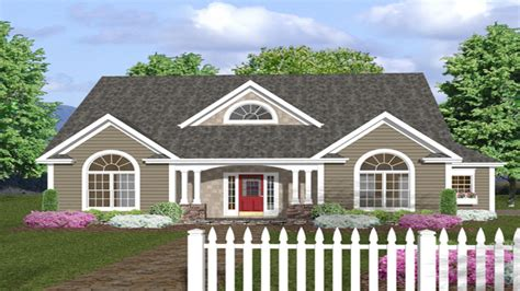 Wrap Around Porch House Plans One Story by One Story House Plans With Front Porches One Story House