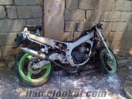 hasarli motosiklet