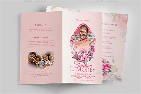 Funeral Card Template Psd by 57 Funeral Program Templates Free Word Pdf Psd Doc Sles